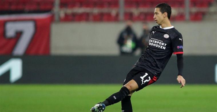 Dramatisch nieuws voor PSV: Mauro komt dit seizoen niet meer in actie
