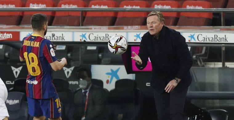 Koeman ziet kansen door Madrileense derby: 'Belangrijk dat dat team verliest'