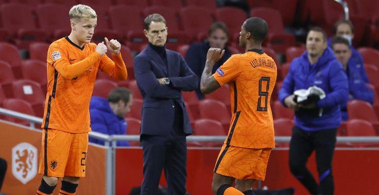 'KNVB ziet twee opties voor 'Engelse' Oranje-spelers vanwege vliegverbod'