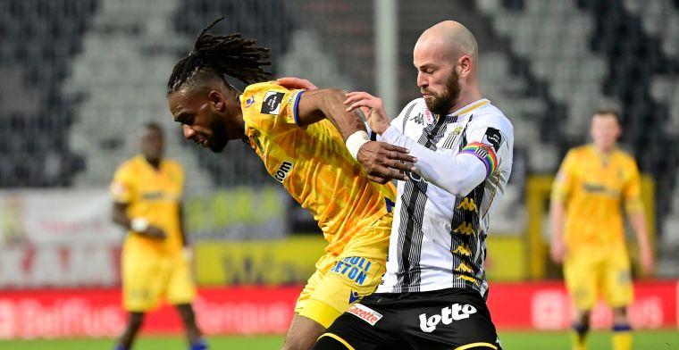 Duel tussen Charleroi en STVV levert geen winnaar op
