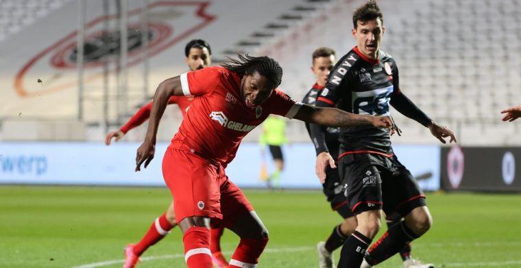 Antwerp pakt de drie punten tegen KV Kortrijk na doldwaze tweede helft