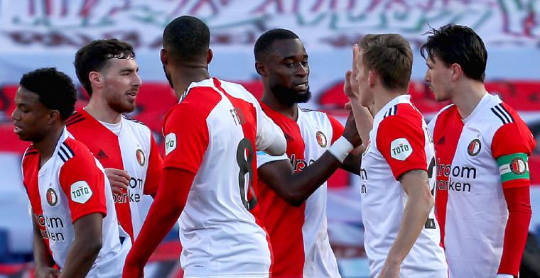 Armoedig en dramatisch VVV is perfecte medicijn voor Feyenoord: 6-0 in De Kuip
