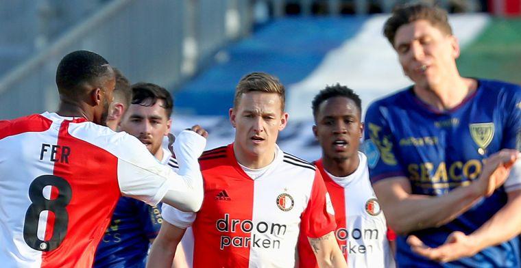 LIVE: Feyenoord rolt tandeloos VVV-Venlo op en werkt aan het doelsaldo (gesloten)