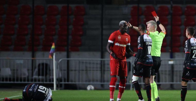 Arbitrage onder vuur na rood voor Antwerp en penalty voor Antwerp: 'Belachelijk'