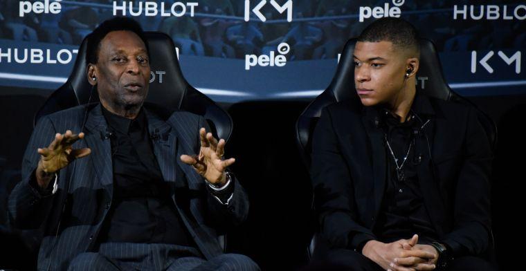 Pelé steekt loftrompet over 'erfgenaam': 'Dat zeg ik niet voor de grap'