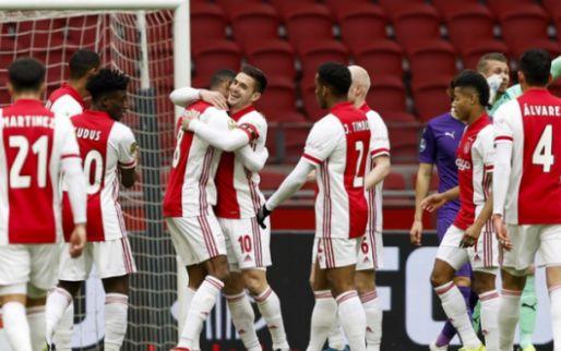 LIVE: Ajax wint ruim van Groningen en kan blik op Young Boys richten (gesloten)