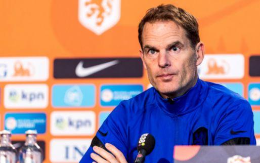 De Boer selecteert 31 spelers voor Oranje: Stekelenburg en St. Juste zitten erbij