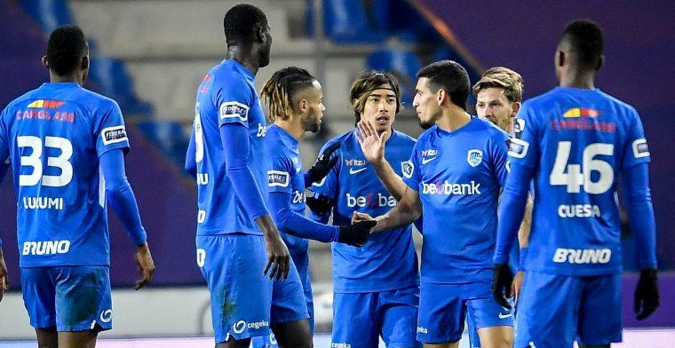 Genk zoeft op spaarstand voorbij Cercle Brugge na beslissende eerste helft