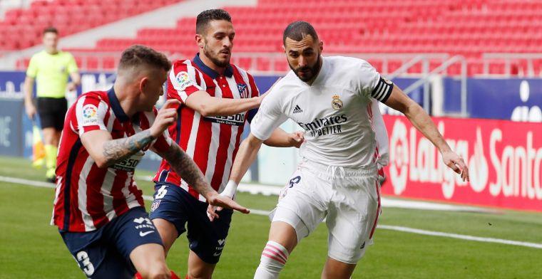 Atlético en Real houden elkaar in bedwang, Barça winnaar van Madrileense derby