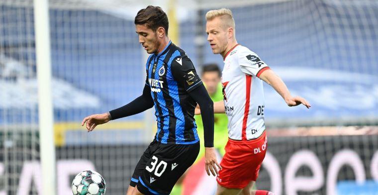 Club Brugge vergeet uitschakelingen met makkelijke zege tegen Zulte-Waregem