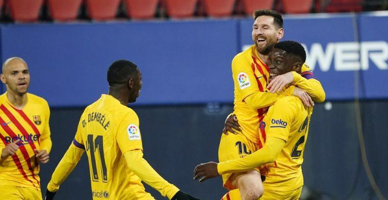 'Súper Ilaix' scoort eerste voor Barcelona: 'Dit zal me bijblijven tot mijn dood'