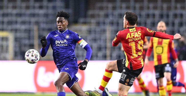 Anderlecht kan in eigen huis geen afstand nemen van KV Mechelen