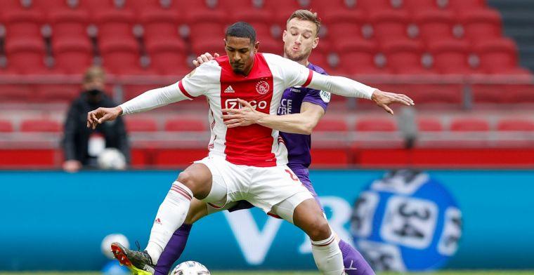 Haller 'opgegeten' tijdens Ajax - Groningen: 'Ten Hag pakt hem keihard aan'