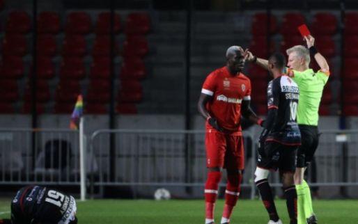 Bondsparket stelt Seck (Antwerp) minnelijke schikking voor na rood tegen Kortrijk