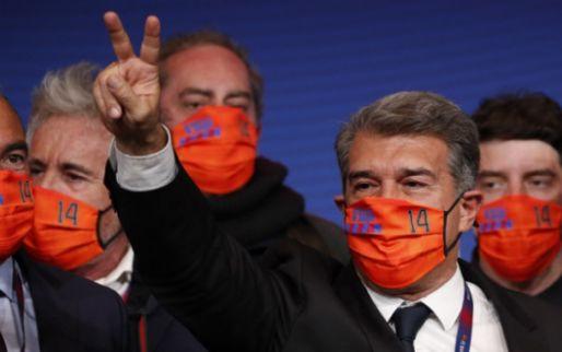 Laporta brengt gedachtegoed Cruijff terug bij Barça mét Messi, Koeman en Jordi