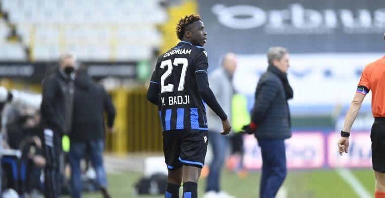 Clement geeft Badji nog niet op bij Club Brugge: Juiste lessen trekken