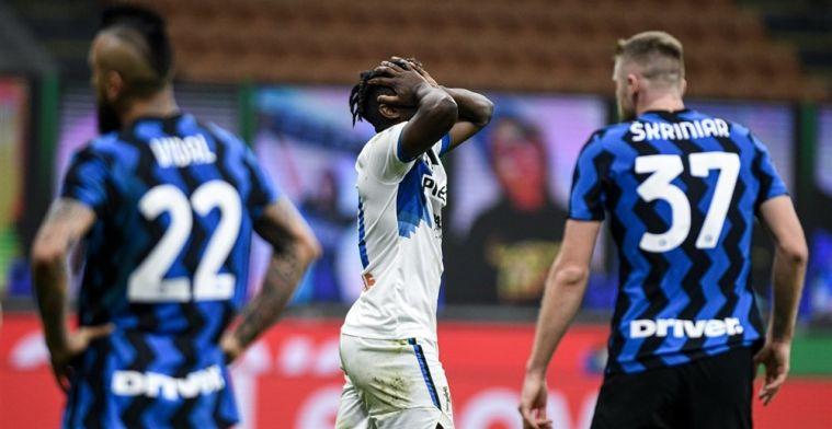 Inter laat zich niet verrassen door Atalanta en kan Scudetto bijna ruiken
