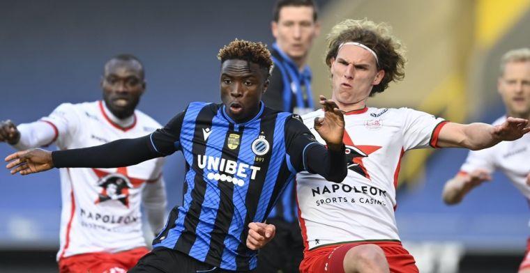 Dury: Zelfs de tweede ploeg van Club Brugge kan kampioen worden
