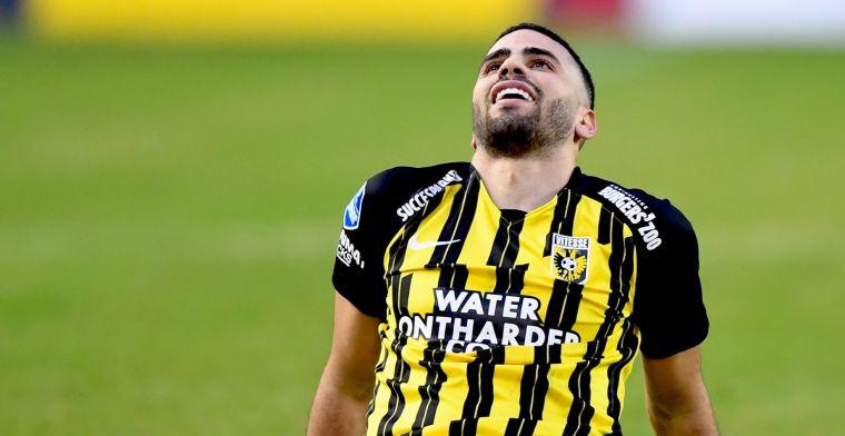 'Italianen en Duitsers melden zich bij 'ondergewaardeerde' Vitesse-ster Tannane'
