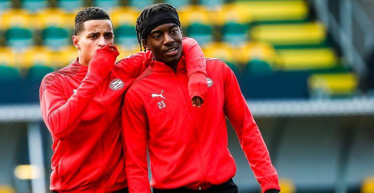 Perez en De Boer verbijsterd door ESPN-gesprek Madueke: '18-jarige de verstandige'