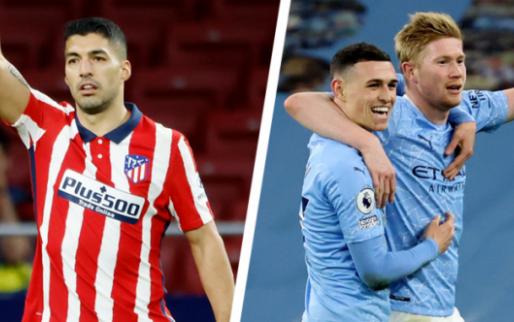 Afbeelding: De Bruyne blinkt uit bij Man City, Carrasco ziet Suarez Atlético redden