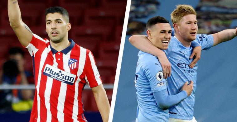De Bruyne blinkt uit bij Man City, Carrasco ziet Suarez Atlético redden
