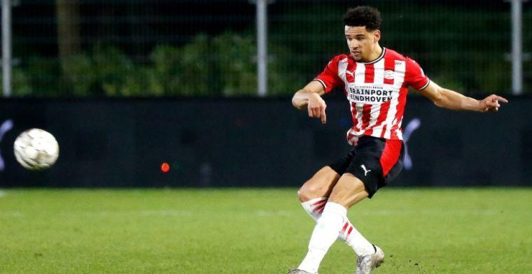 'PSV zet doorbraak van kind van de club niet uit het hoofd en licht optie'