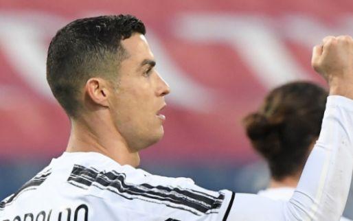 Afbeelding: Ronaldo sluit horrorweek Juventus af met perfecte hattrick op Sardinië