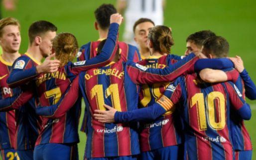 Afbeelding: Spaanse media zien 'legende' Messi, ook 'bijnamen' voor De Jong en Dest
