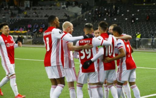 Afbeelding: Ajax freewheelt ook in Bern over Young Boys heen en is kwartfinalist Europa League