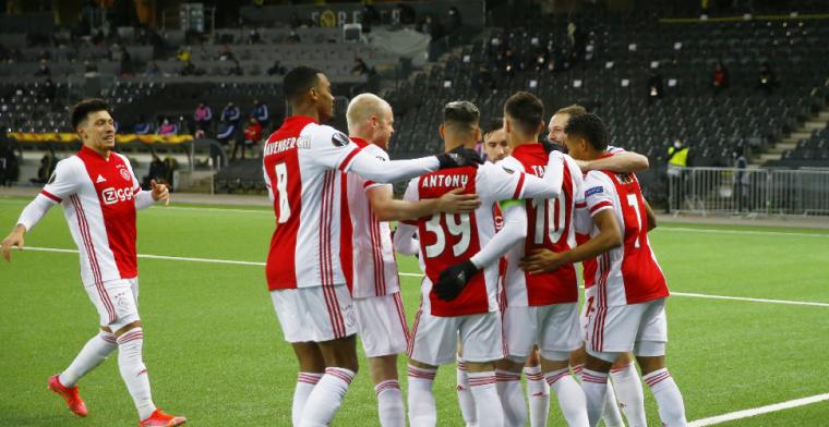 Ajax freewheelt ook in Bern over Young Boys heen en is kwartfinalist Europa League