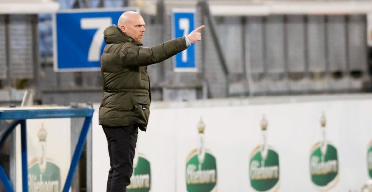 Jansen kan lachen om Heerenveen-commotie: 'Rustig weekje, niemand ontslagen'