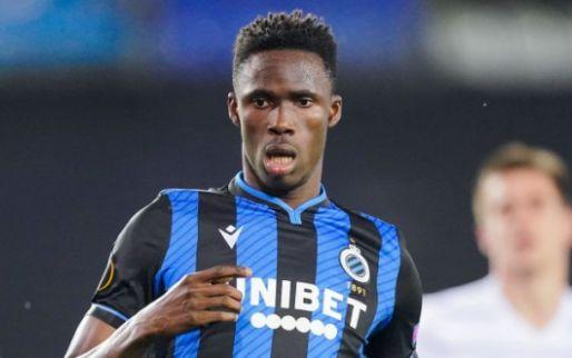 Afbeelding: Geen interlands voor Kossounou: 'Club Brugge houdt het been stijf'