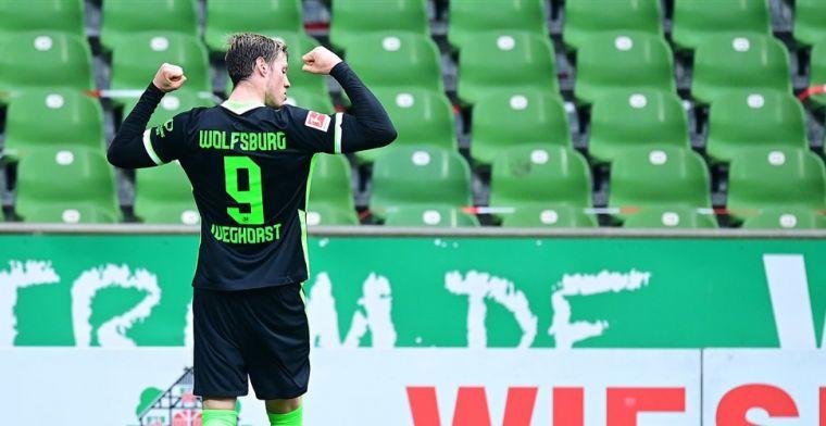 Lewandowski en Weghorst laten zich gelden, twee goals Haaland niet genoeg