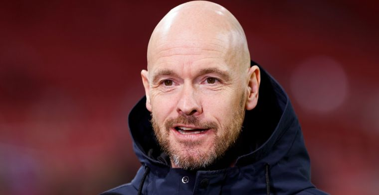 Ten Hag vol lof bij Ajax: 'Ik moet uitkijken wat ik zeg, anders gaat hij zweven'