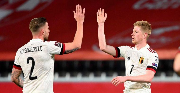 België doet wat het moet doen en klopt Wales met 3-1
