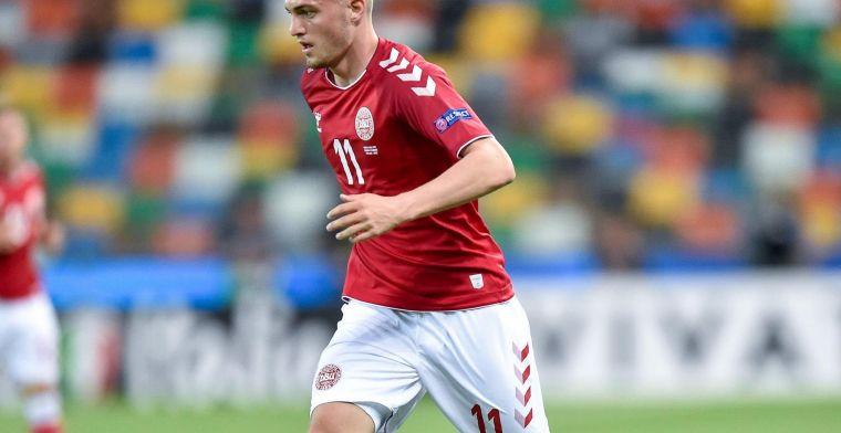 GOAL: Bruun Larsen met fantastische doorsteekpass beslissend voor Denemarken U21