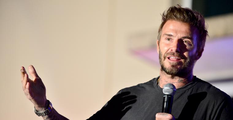 Beckham droomt van grote namen: 'Je zegt gewoon 'Miami' en zij zeggen 'oké''
