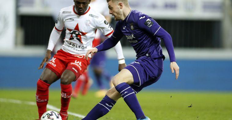 Bruun Larsen (Anderlecht) schittert met U21 Denemarken: 'Hij was uitstekend'