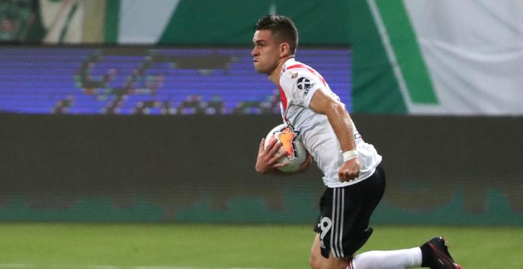 'Aan Feyenoord gelinkte Borré bereikt elders een contract voor vijf jaar'