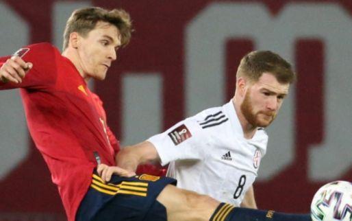 Afbeelding: Spanje scoort pas in blessuretijd en wendt dramatische kwalificatiestart af