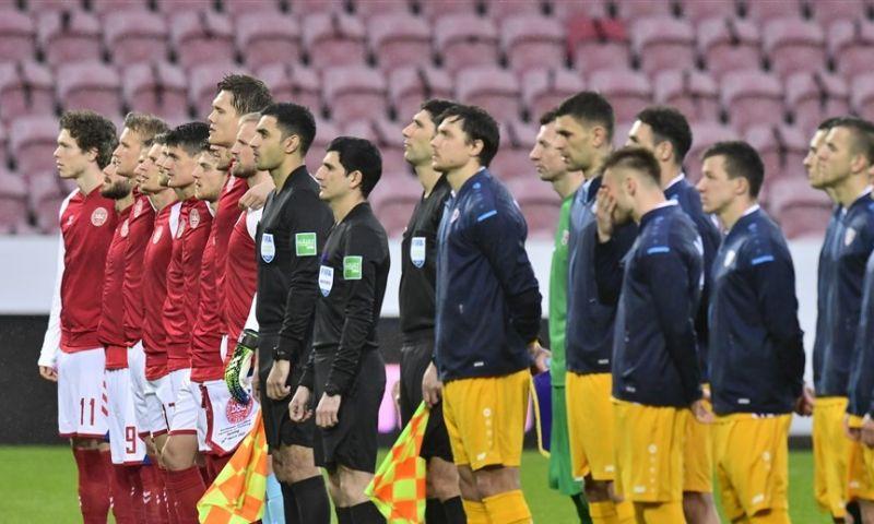 Afbeelding: Denemarken volgt Oranje en komt ook met 'Football Supports Change-statement'