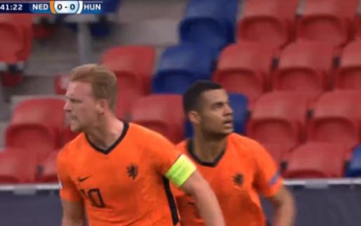 En dat is één: Jong Oranje opent dan eindelijk de score tegen Jong Hongarije
