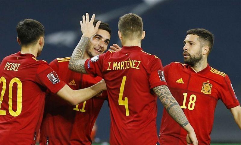 Afbeelding: Spanje loopt weg van concurrentie, Engelsen laten zich niet verrassen na fout