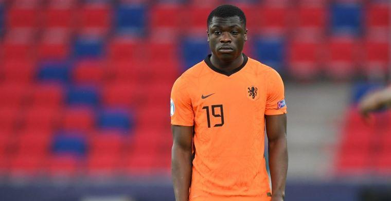 VI: staf van Jong Oranje was niet onder de indruk van de fitheid van Brobbey