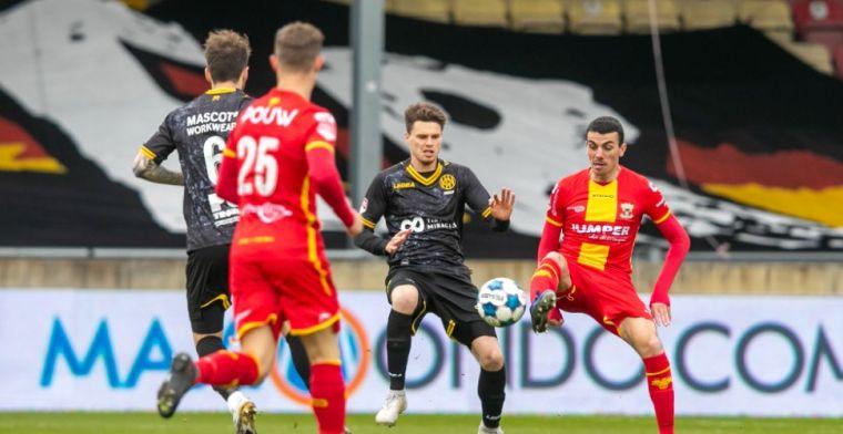 Keepers Go Ahead en Roda JC krijgen 'vrije dag' in De Adelaarshorst