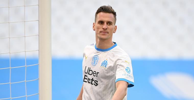 L'Équipe: Milik op weg naar uitgang bij Marseille en onderweg naar Juventus