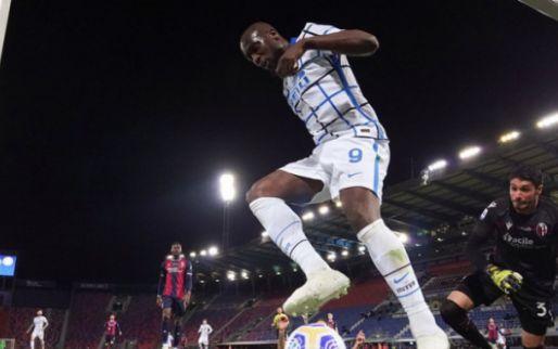 Afbeelding: Inter beleeft de perfecte zaterdag met dank aan scorende Lukaku