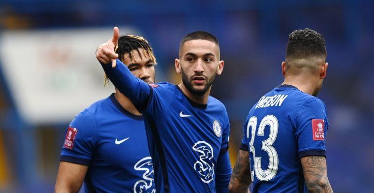 Ziyech direct terug in Chelsea-basis na interlandperiode met Marokko