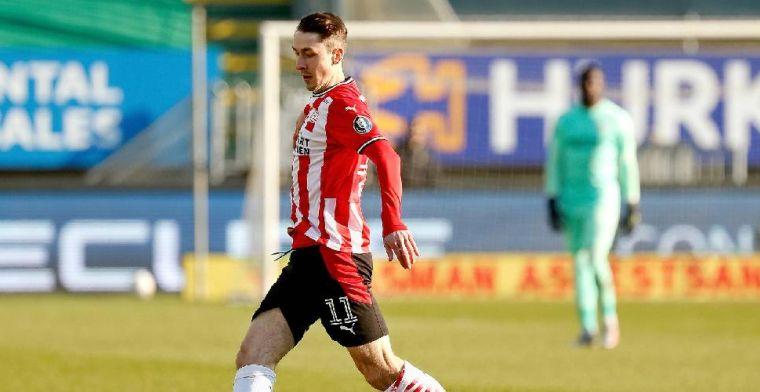'PSV hakt knoop door en gaat koopoptie van zes miljoen euro niet lichten'